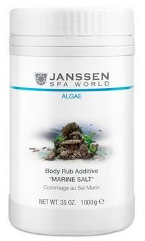 Janssen Body rub additive «Marine salt» (Скраб-микродермабразия «Морская соль»), 1000 гр - купить, цена со скидкой